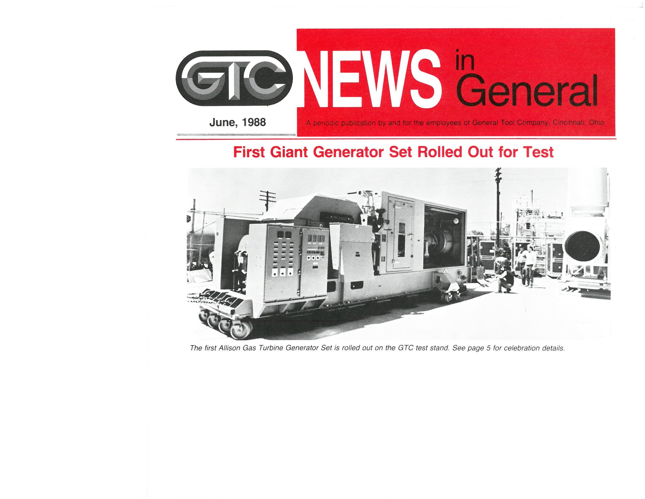 Our History General Tool pany